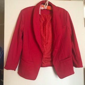 Pink blazer / L